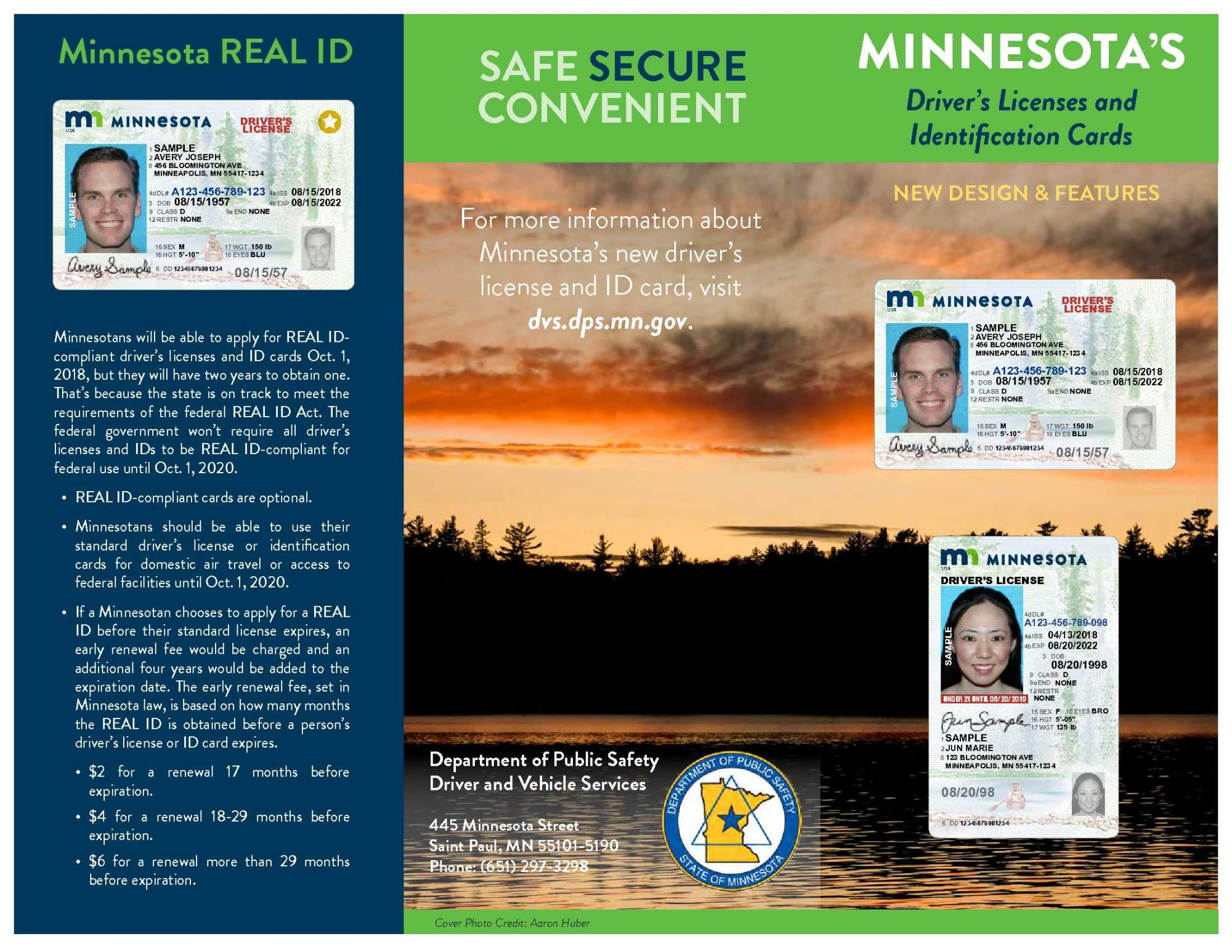 MN license brochure image